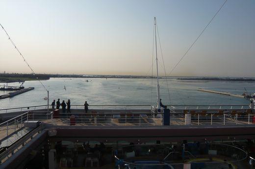 ベネチィア出港